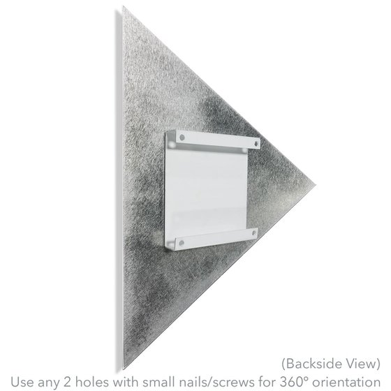 Linear Diamond by Helena Martin - Modern Wall Decor on Metal