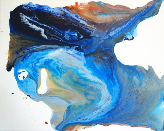 Blue Splodge