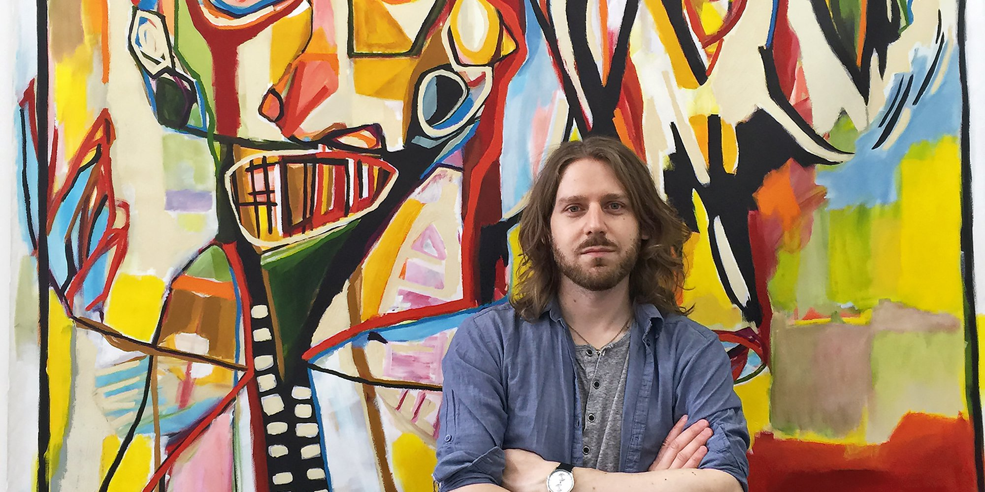 Artfinder Artist Reinder Oldenburger talks Van Gogh, music and his move from Amsterdam to NYC.