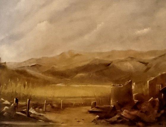 Old tin mine, Cornwall