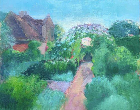Sissinghurst, the White Garden.