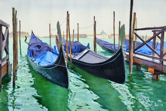 Resting Gondolas