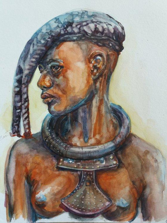Namibian girl