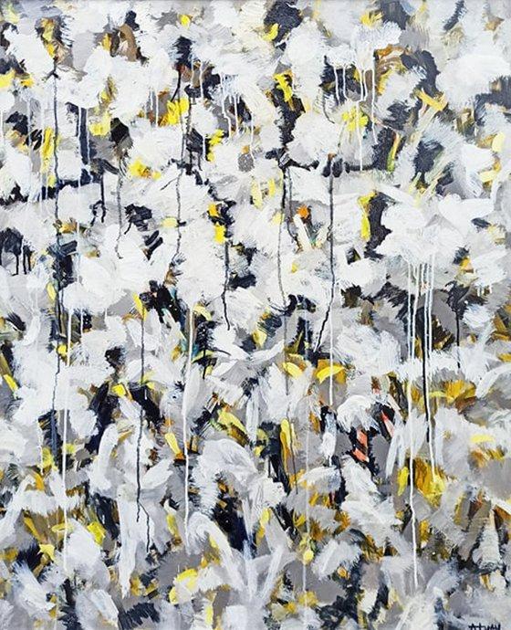 flower season (100x120cm)