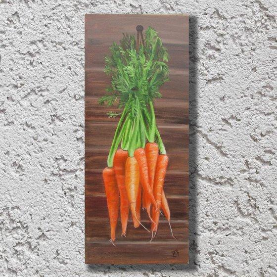 Sweet carrots 20x50cm