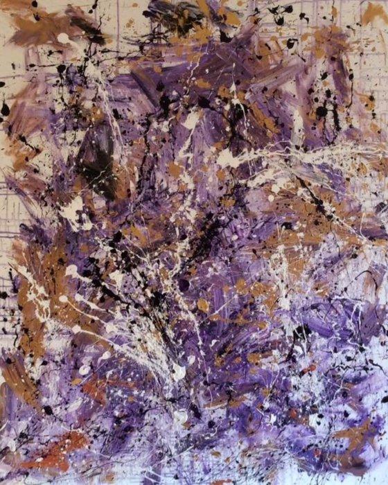 """Pieces Of A Dream"" 122x152x2cm"