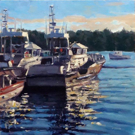 Bass Harbor Fishing Boats