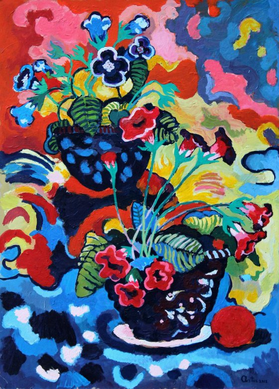 Flowers (50x70 cm)