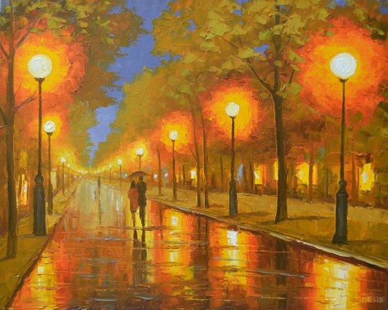 Rainy Summer Evening