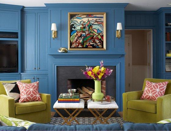 Sweet Hill - Original acrylic on canvas 60 x 60 cm / 24 x 24 inches