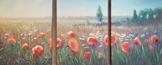 Poppies - Triptych