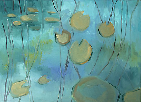 Water Lilies /  Into the Deep