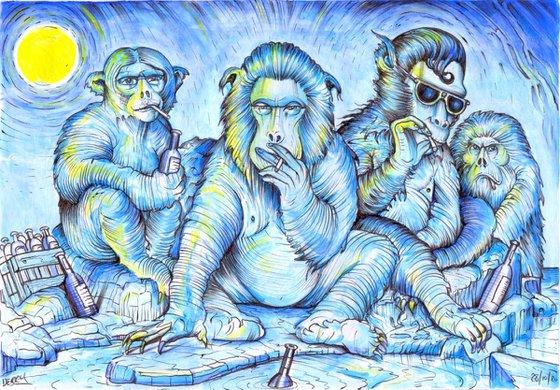 Chillin' Arctic Monkeys