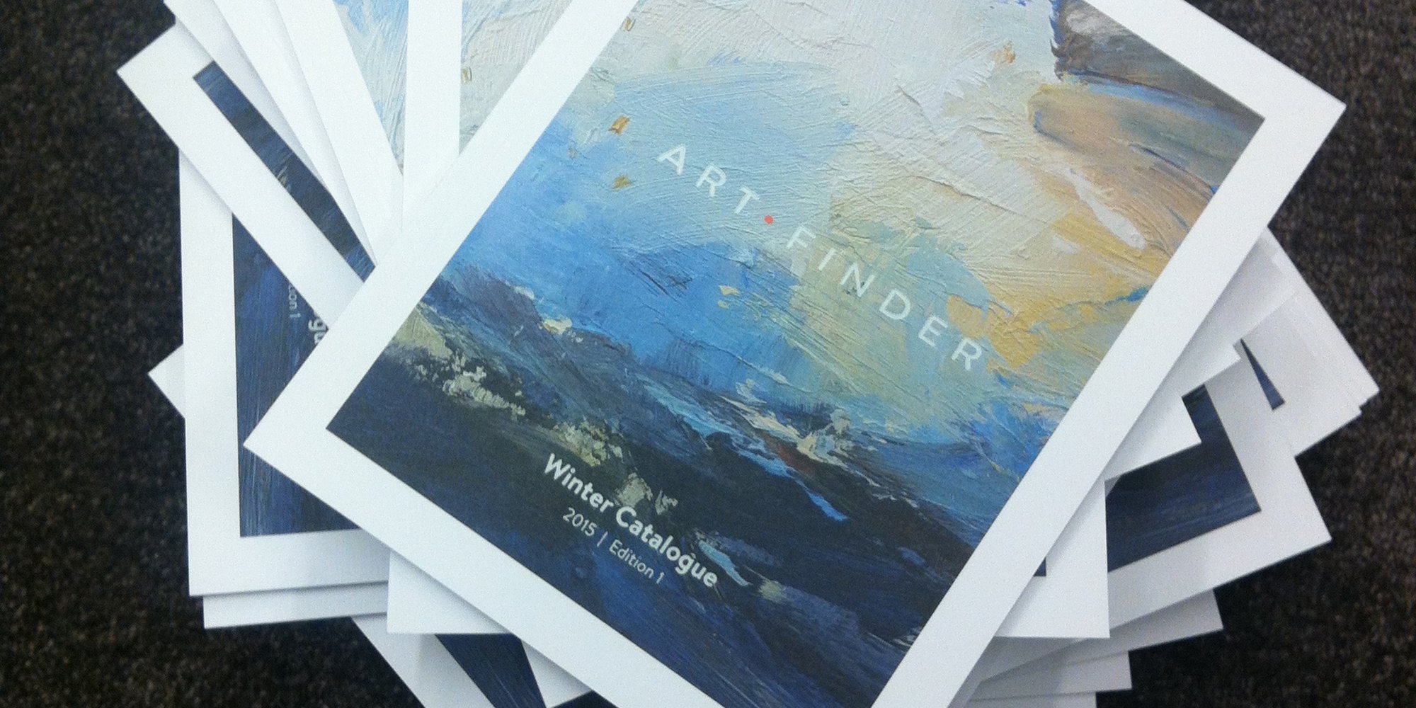 Welcome to Artfinder's first ever catalogue!