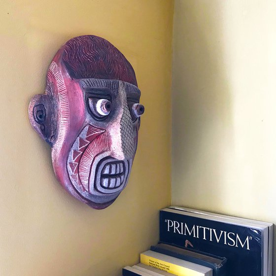 Primitive Style Ceramic Mask One
