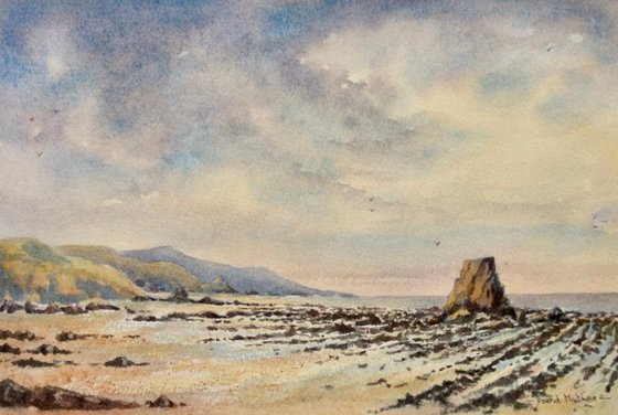 Black rock Widemouth bay