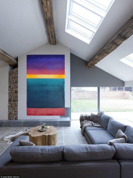 BEYOND ( VIBRATION)/ Modern Minimal Large Abstract