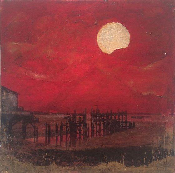 Sunset on Thames