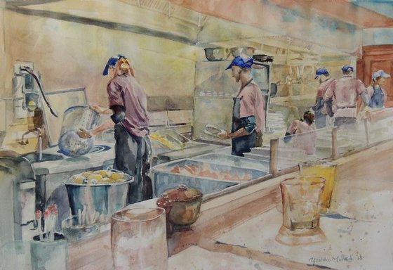 Kitchen Hustle
