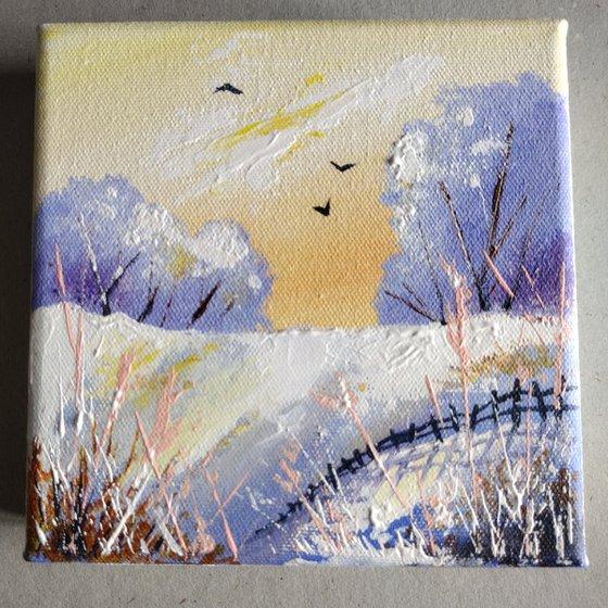 Winter landscapes - 'Splendid Winter #3'