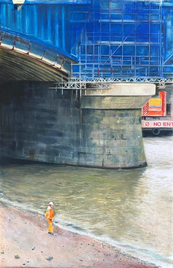 No Entry (Blackfriars Bridge)