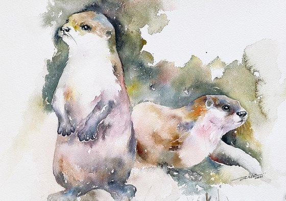 Otters' Tiff