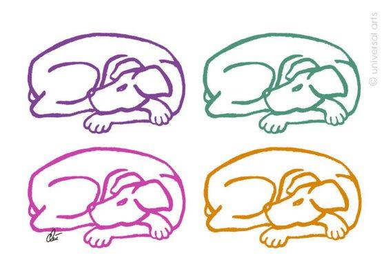 Varicoloured Dogs (Bunte Hunde)