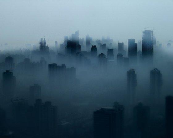 Shanghai Fog (Framed) Limited Edition 6/20