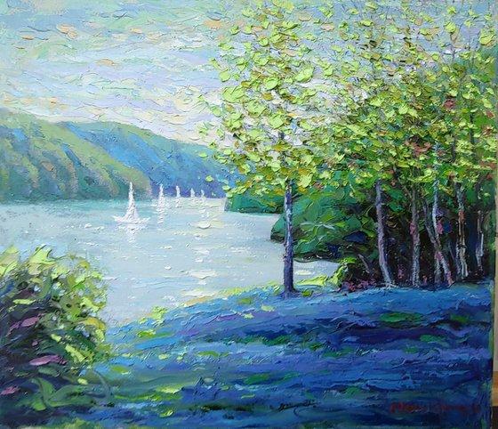 Spring lake at Catskills, ny