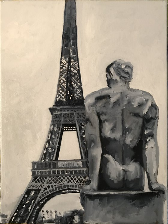 Eiffel and a Guy
