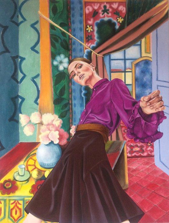 Into Matisse.