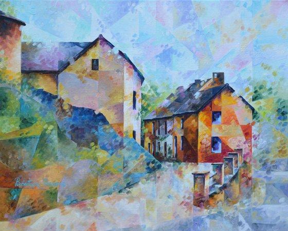 Rue de l'Egalite  /  50 x 40 cm