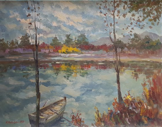 Fall Landscape – One of a Kind
