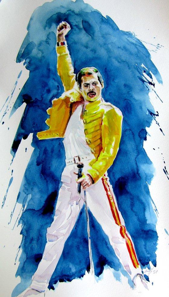 Freddie Mercury /52 x 32,5 cm/