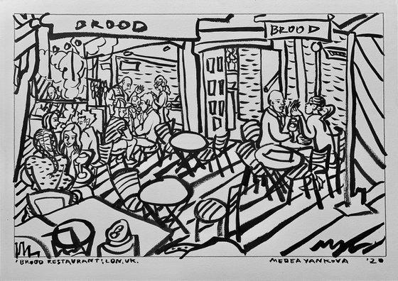 Brood Restaurant, LDN, UK