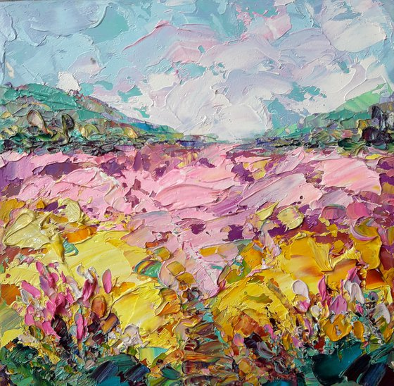 painting Landscapes of Tuscany Italy