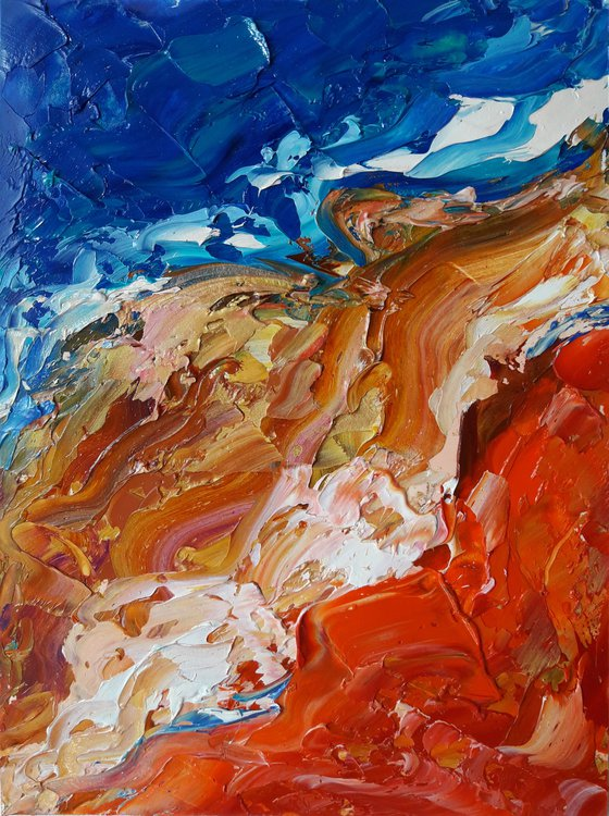 painting Bright emotions of desires #1