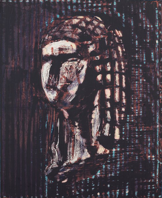 """Série """"extrait"""" - 12F- Vénus de Brassempouy - Argile."""