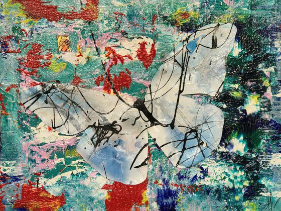 Ophiuchus Abstract Butterfly