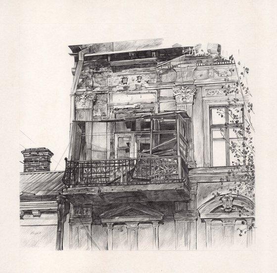 Old Odessa Balcony