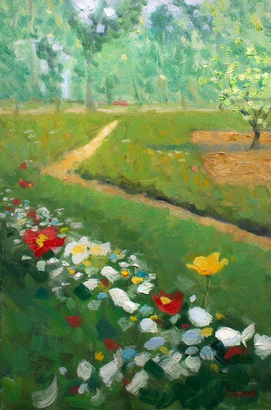 Paris Botanical Gardens Albert Khan impressionism