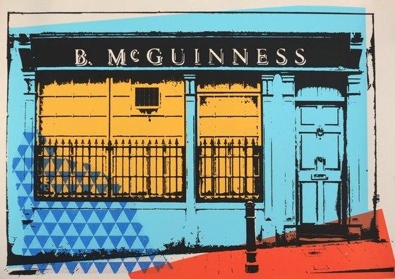 Irish shop fronts - B.MC GUINNESS