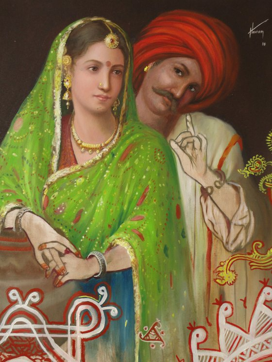 Hope – To See You Soon | Oil Painting By Hari Om Singh