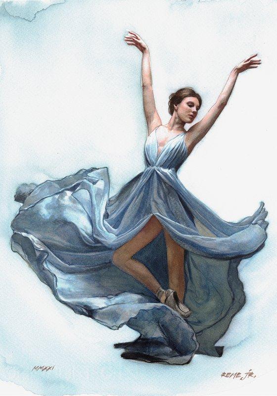 Ballet Dancer CLXXIV
