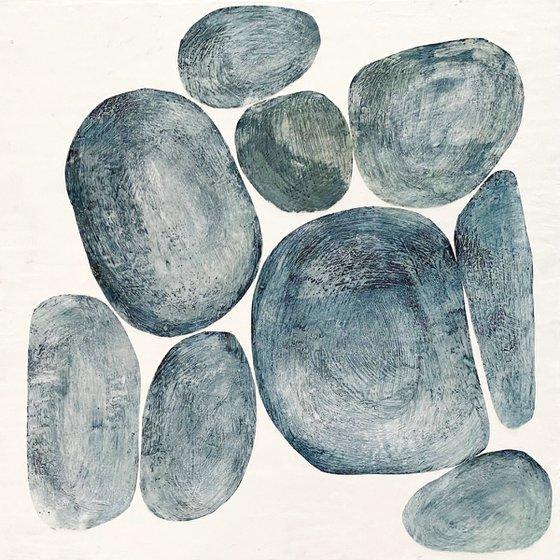 Nine Blue Stones