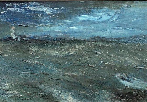Rising Storm - original mounted painting