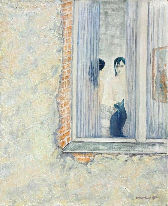 Blue Lady - Black Cat