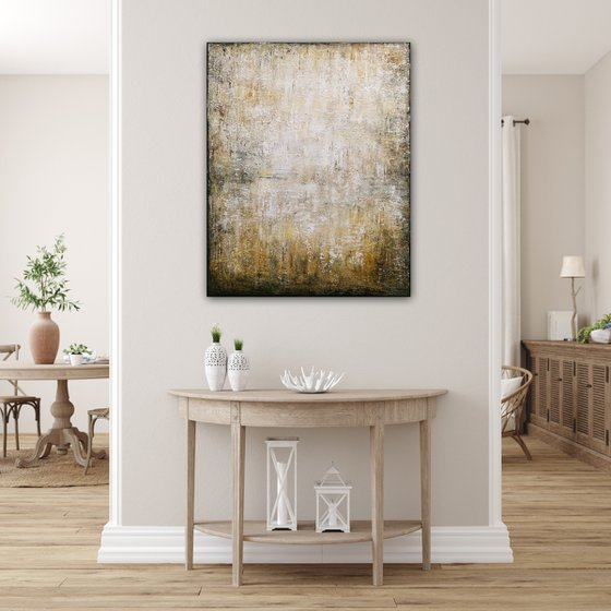 Abstract Landscape XXV, Original modern abstract painting, Ready to hang