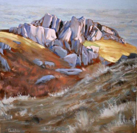 Sunlit Rocks