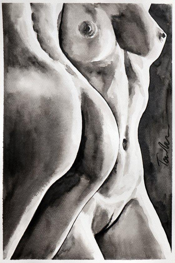 """Shape of love "" / 30x45 cm"